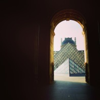 Louvre through Archway